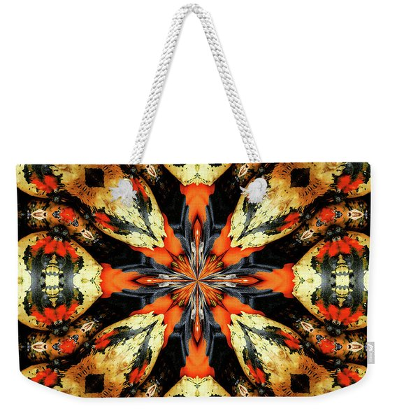 Colorful Gourds Abstract Weekender Tote Bag