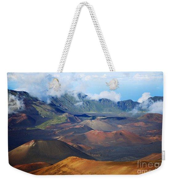 Colorful Haleakala Weekender Tote Bag