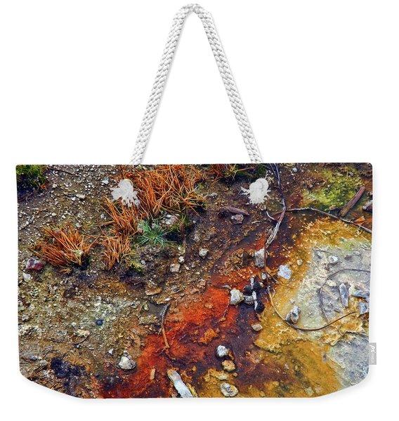 Colorful Hot Pool Weekender Tote Bag