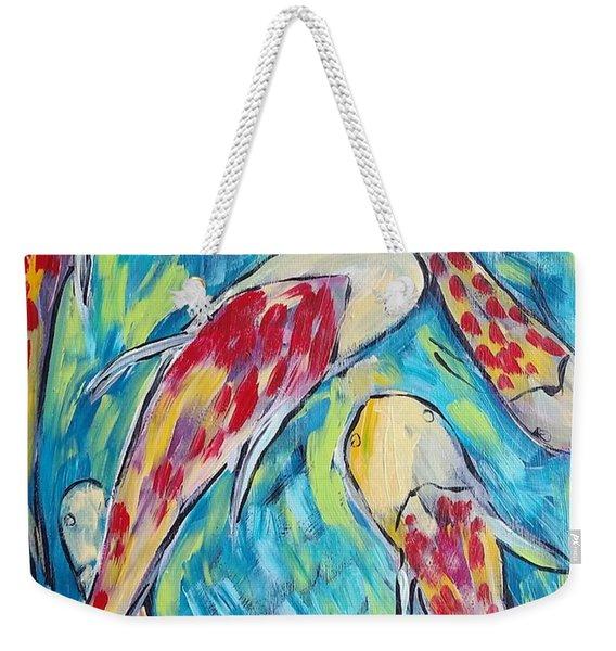Colorful Koi Fish #2 Weekender Tote Bag