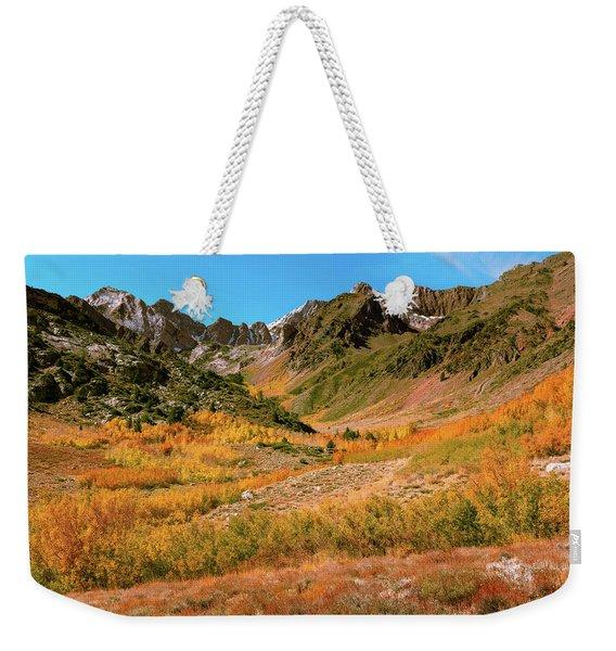 Colorful Mcgee Creek Valley Weekender Tote Bag