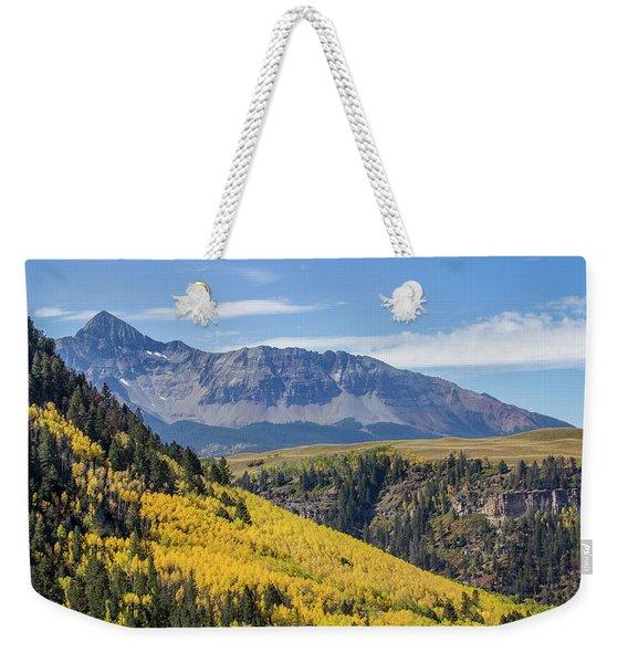 Colorful Mountains Near Telluride Weekender Tote Bag