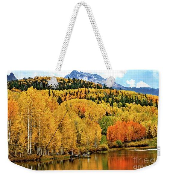 Colorful Peaceful Colorado Weekender Tote Bag