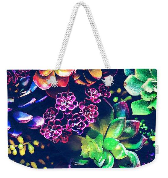 Colorful Plants  Weekender Tote Bag