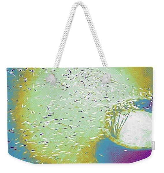 Colorful Pond Weekender Tote Bag