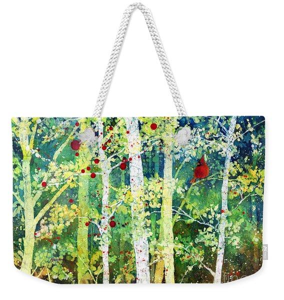 Colorful Presence Weekender Tote Bag