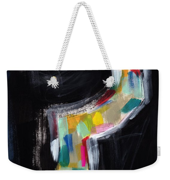 Colorful Questions- Abstract Painting Weekender Tote Bag