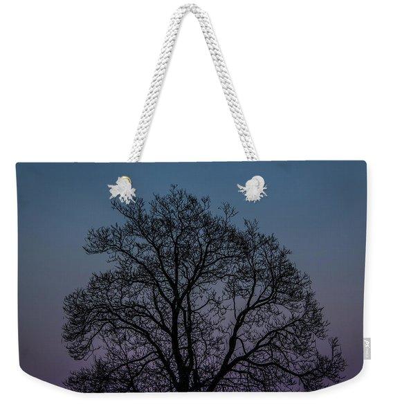 Colorful Subtle Silhouette Weekender Tote Bag