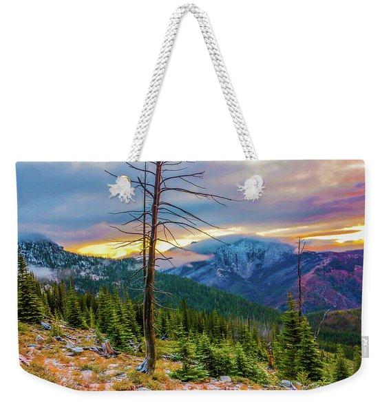 Colorfull Morning Weekender Tote Bag