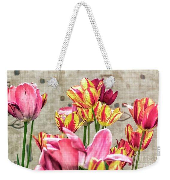 Colorfull Tulips Weekender Tote Bag