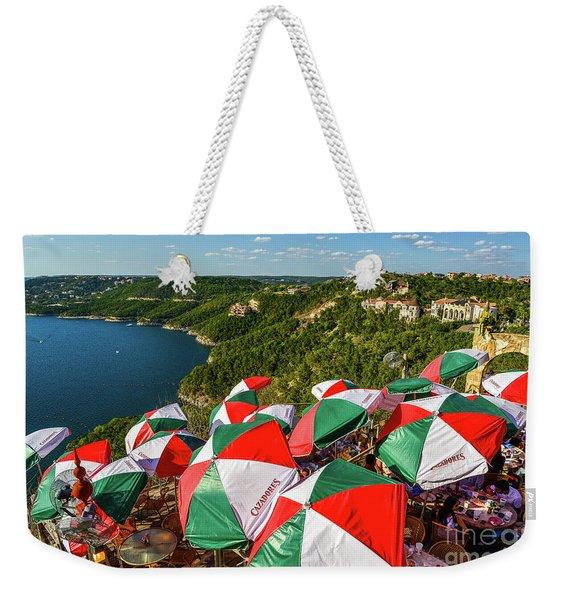 Colorfull Umbrella's Weekender Tote Bag