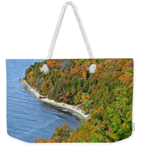 Colors Of Peninsula Weekender Tote Bag