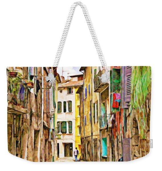 Colors Of Provence, France Weekender Tote Bag