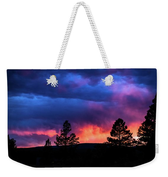 Weekender Tote Bag featuring the photograph Colors Of The Spirit by Jason Coward