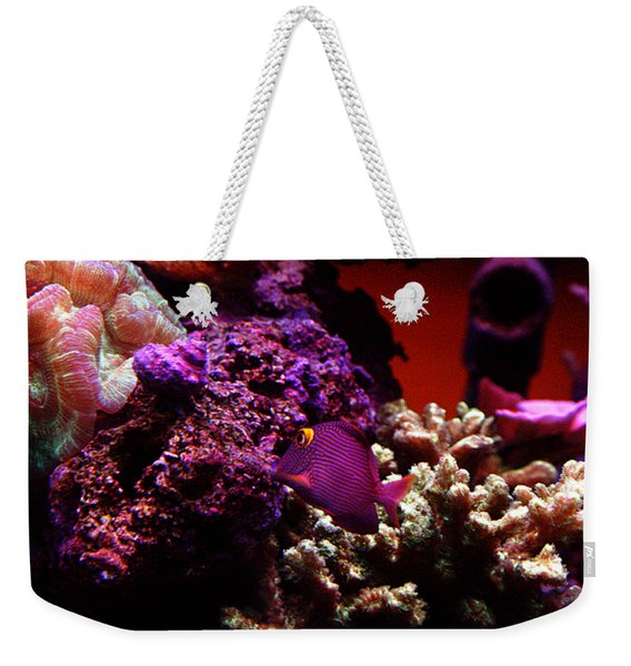Colors Of Underwater Life Weekender Tote Bag