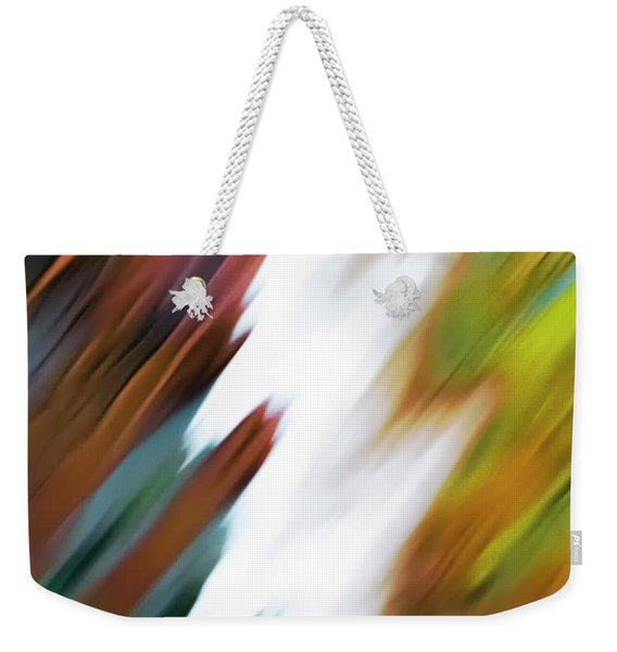 Colors Of Water Weekender Tote Bag