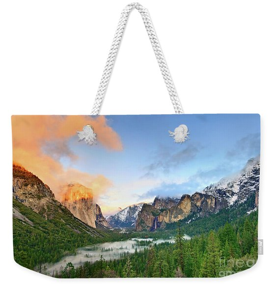 Colors Of Yosemite Weekender Tote Bag