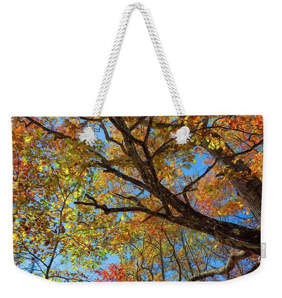 Colors On High Weekender Tote Bag