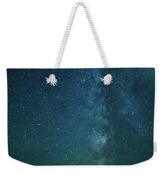 Colors Over The Milky Way Weekender Tote Bag