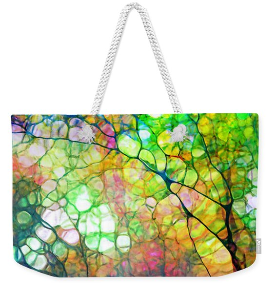 Colour Combustion Weekender Tote Bag