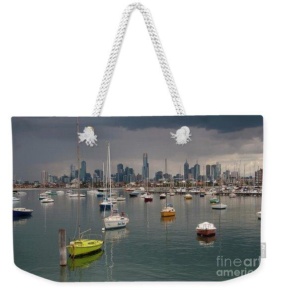 Colour Of Melbourne 2 Weekender Tote Bag