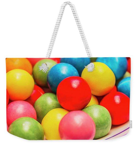 Colourful Bubblegum Candy Balls Weekender Tote Bag