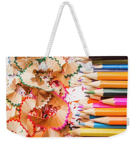 Colourful Leftovers Weekender Tote Bag