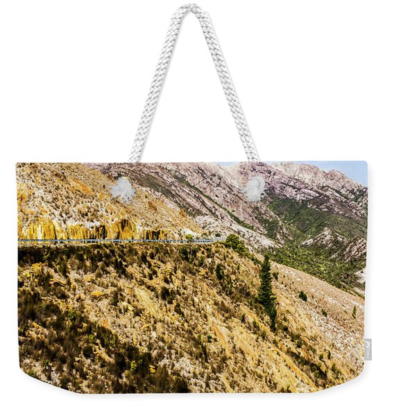 Colourful Stony Highlands Weekender Tote Bag