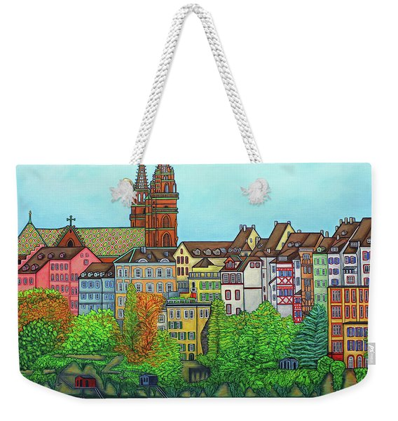 Basel, Colours Of Basel Weekender Tote Bag