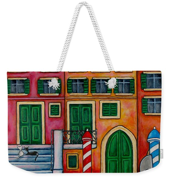 Colours Of Venice Weekender Tote Bag