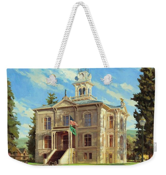 Columbia County Courthouse Weekender Tote Bag