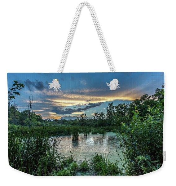 Columbia Marsh Sunset Weekender Tote Bag