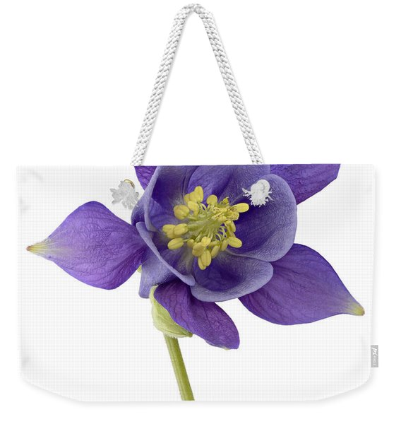Columbine Flower Weekender Tote Bag