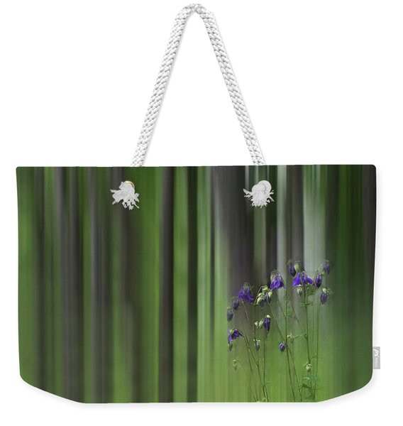 Weekender Tote Bag featuring the photograph Columbine Spring by Wayne King