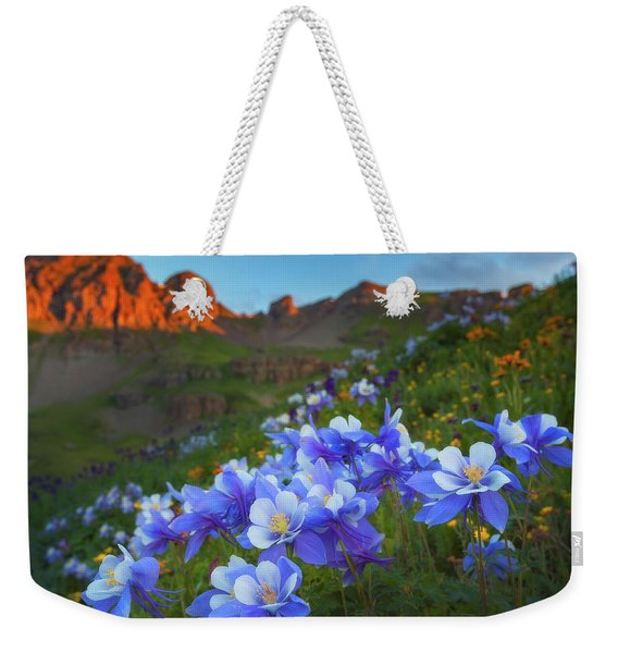 Columbine Sunrise Weekender Tote Bag