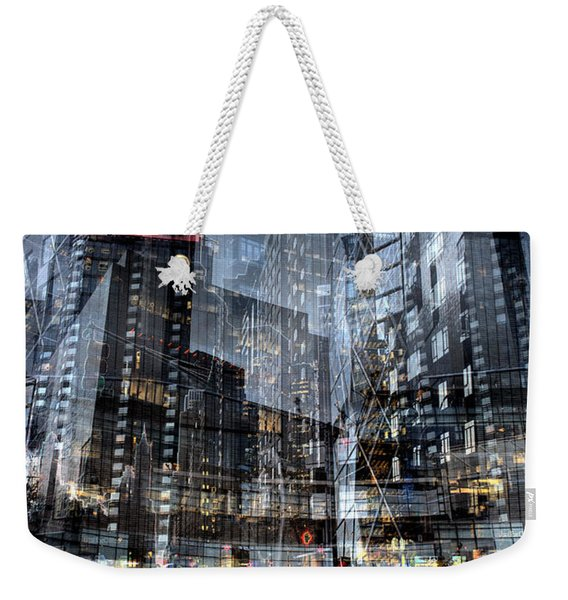 Columbus Circle Collage 1 Weekender Tote Bag