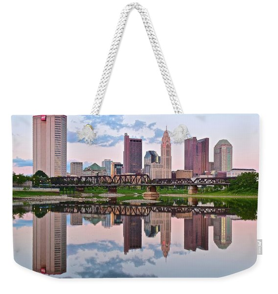 Columbus Ohio Reflects Weekender Tote Bag