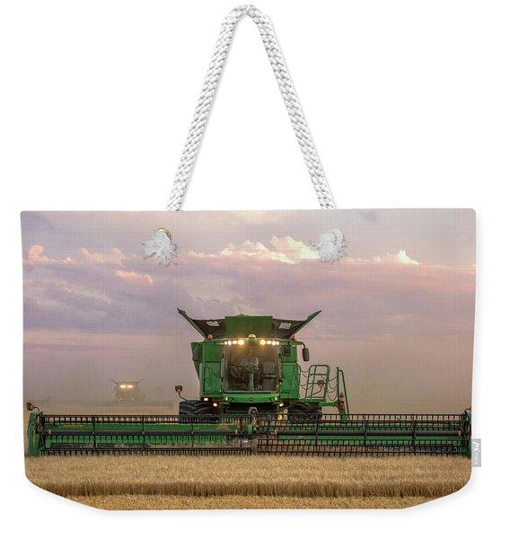 Combine Head On Weekender Tote Bag