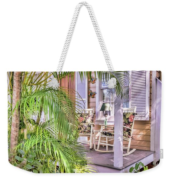 Come And Sit Awhile Weekender Tote Bag