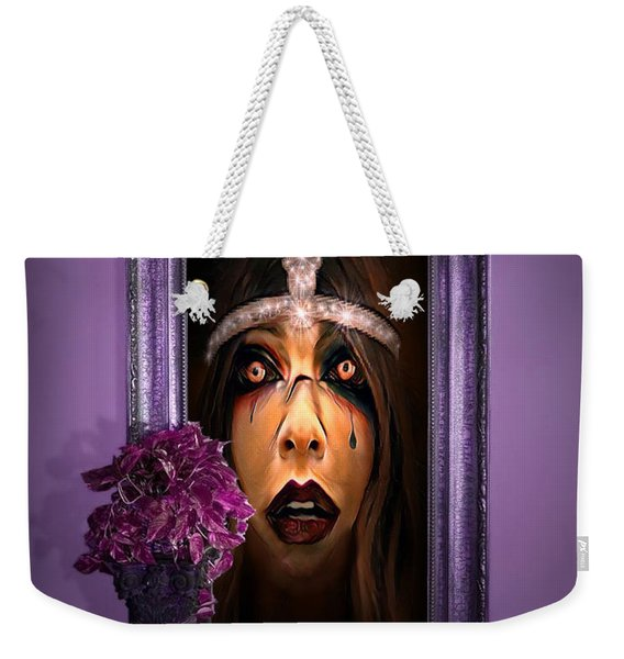 Come With Me, If You Dare Weekender Tote Bag