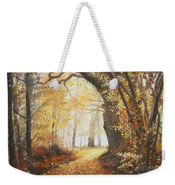 Come With Me Weekender Tote Bag