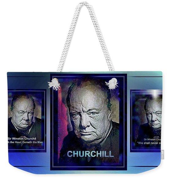 Cometh The Hour . . .  Weekender Tote Bag