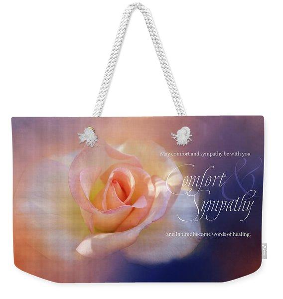Comfort And Sympathy Weekender Tote Bag