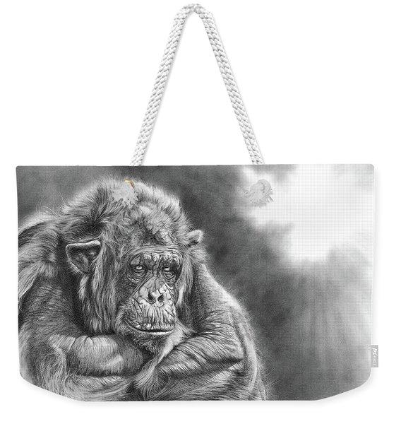 Comfortably Numb Weekender Tote Bag