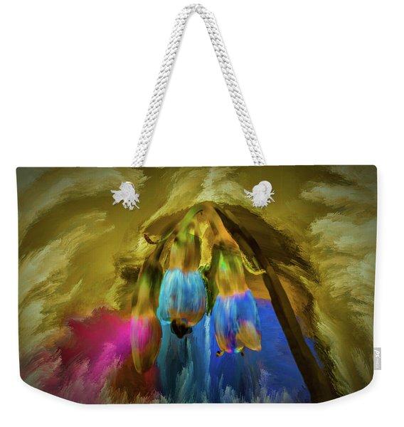 Comfrey Paint #h8 Weekender Tote Bag