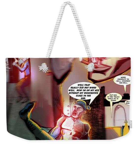 Comic Page Edit Weekender Tote Bag