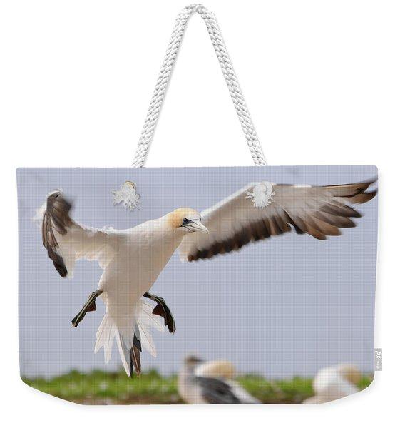 Coming In To Land Weekender Tote Bag