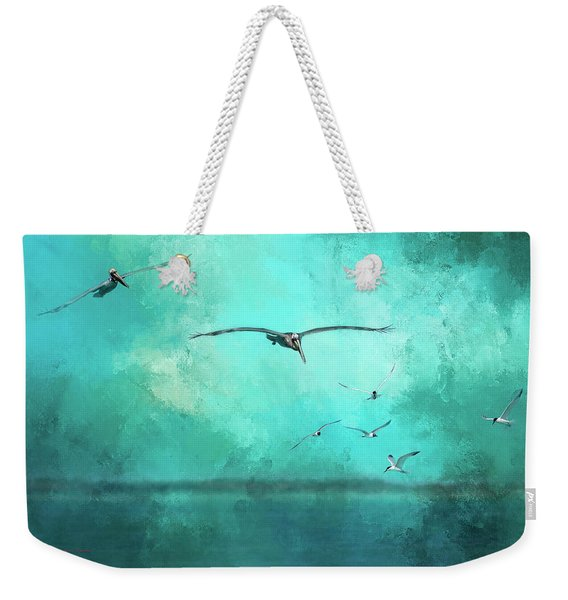 Coming Into View Weekender Tote Bag