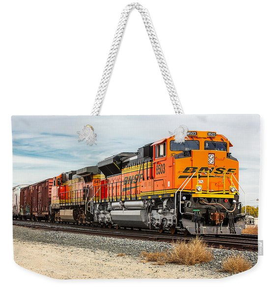 Coming Through Livingston Weekender Tote Bag