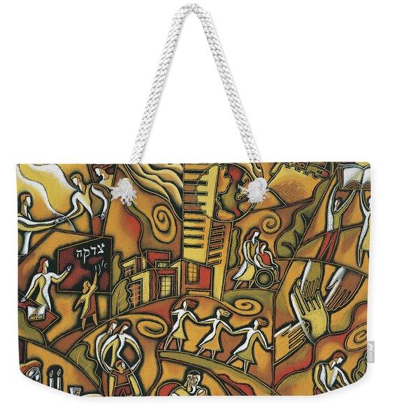 Community Support Weekender Tote Bag